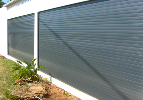 Estores de exterior de alumínio térmico / alumínio extrudido / alumínio segurança / PVC